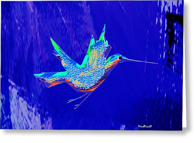 Bird Flight Greeting Card