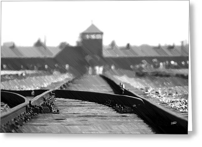 Birkenau / Auschwitz Railhead - Pol402324 Greeting Card
