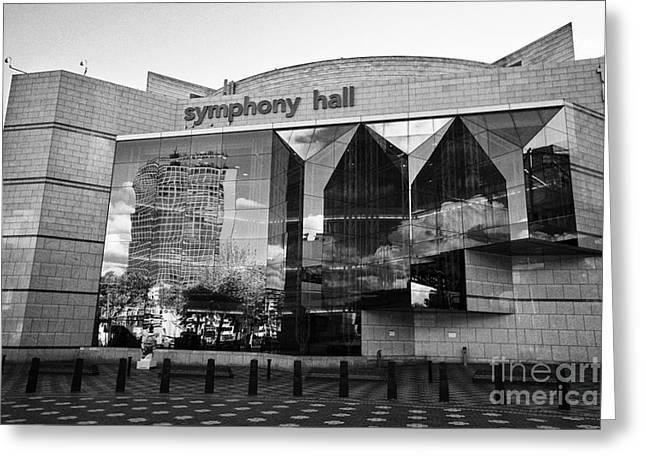 Birmingham Symphony Hall Uk Greeting Card