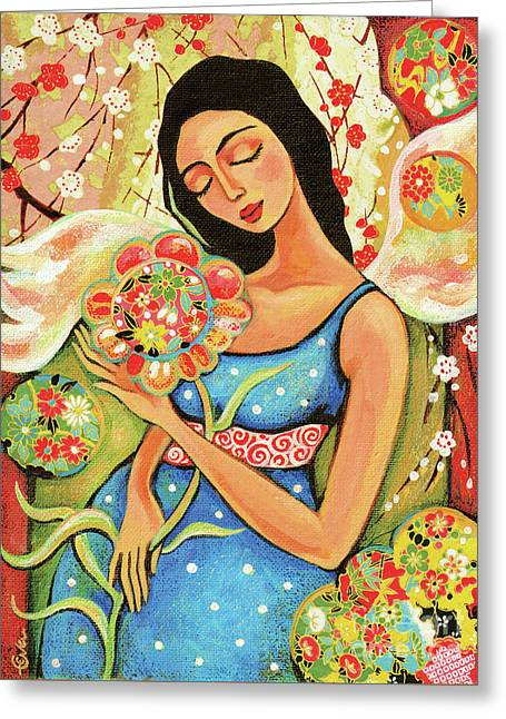 Birth Flower Greeting Card