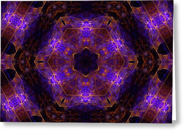 Birth Of A Supernova Mandala 19 Greeting Card