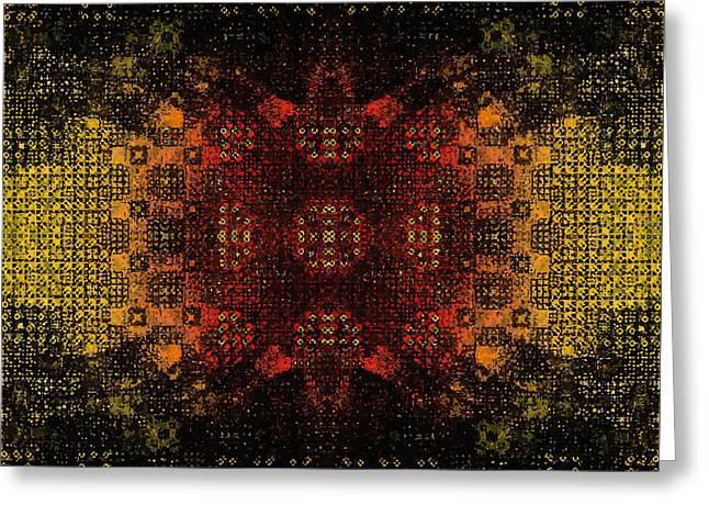 Birth Of Infinity Greeting Card by Aleksei Titov