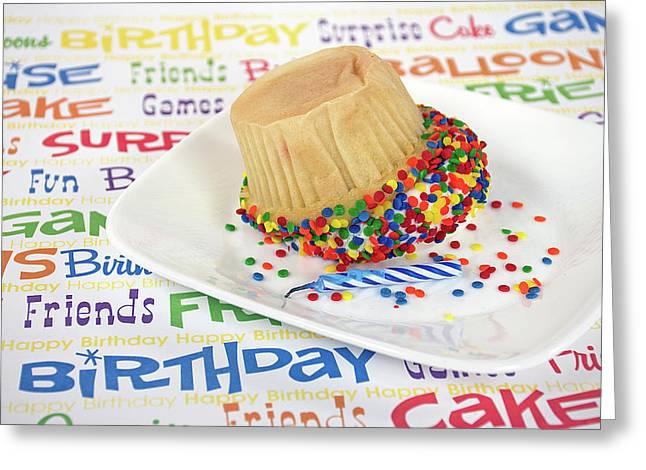 Birthday Cupcake Humor Greeting Card