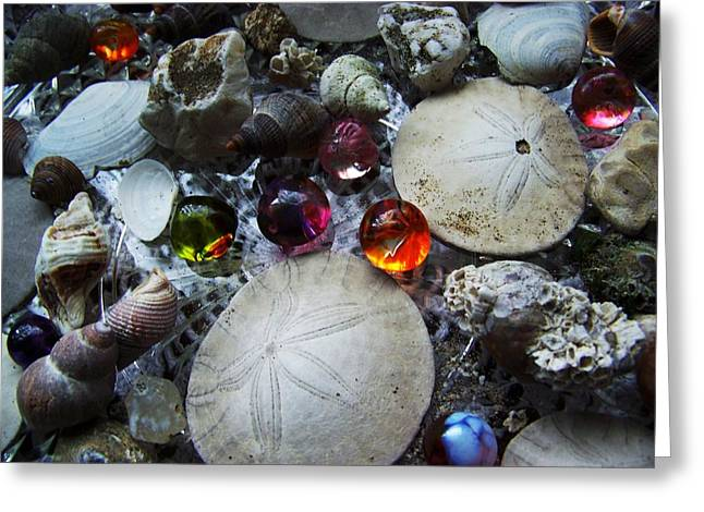 Birthday Marbles Greeting Card by Julie Rauscher