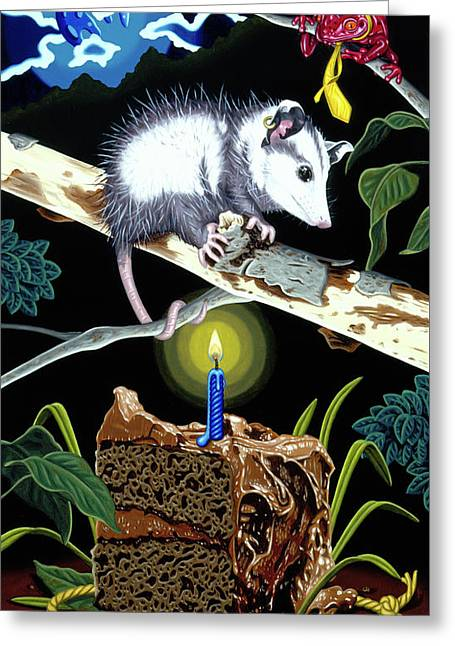 Birthday Surprise Greeting Card