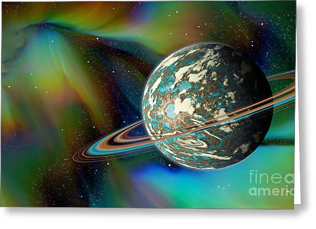 Birthing Planet Greeting Card
