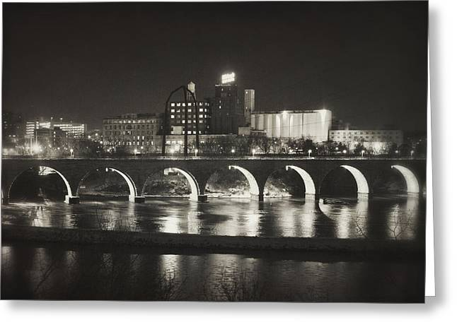 Birthplace Of Minneapolis Greeting Card