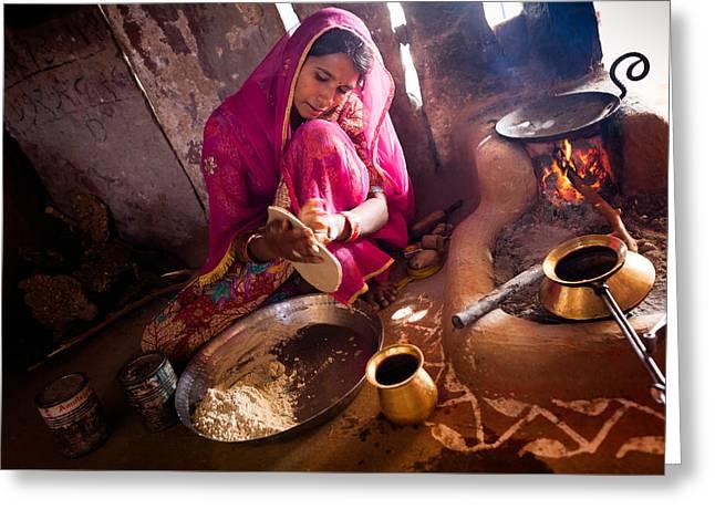 Bishnoi Kitchen Greeting Card