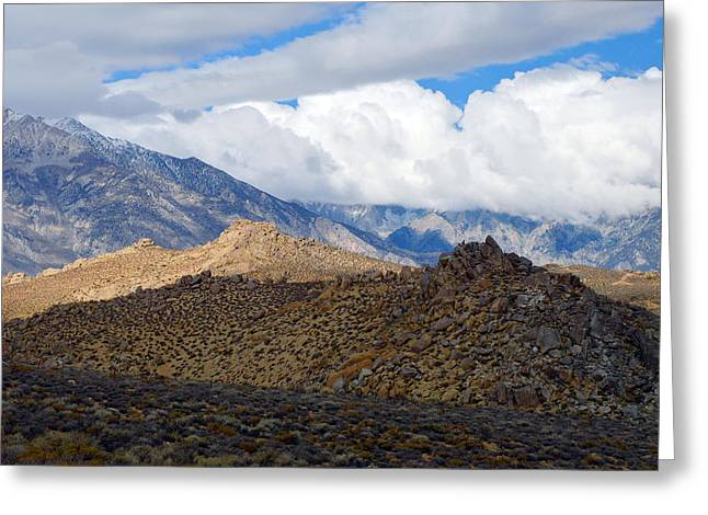 Greeting Card featuring the photograph Bishop California by Dung Ma