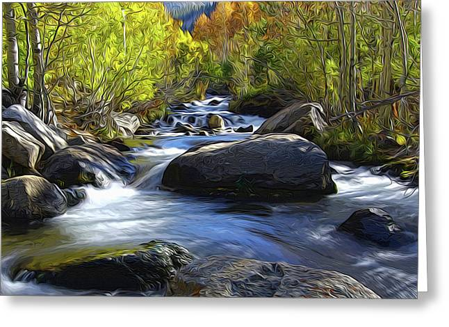 Bishop Creek Greeting Card