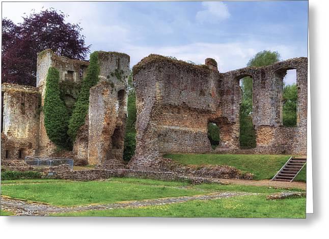 Bishop's Waltham Palace - England Greeting Card by Joana Kruse