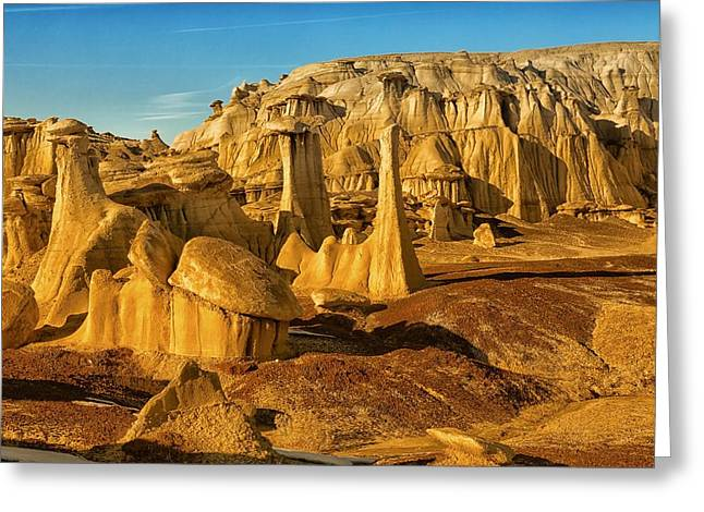 Bisti Badlands Fantasy Greeting Card