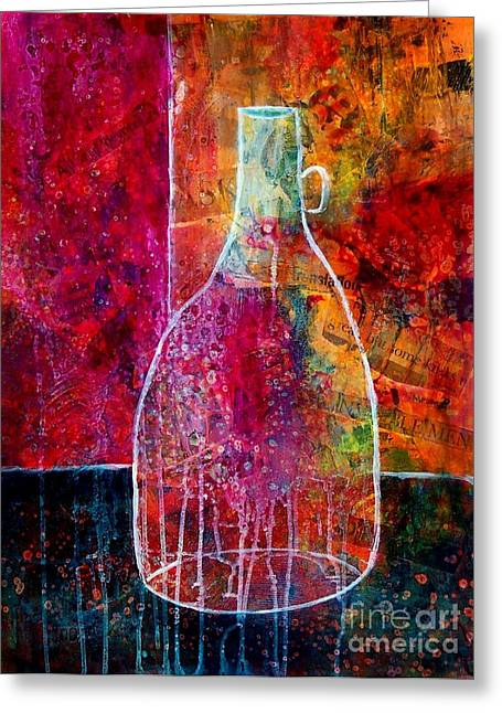 Bistro Greeting Card by Donna Frost