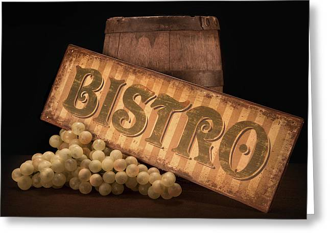 Bistro Still Life IIi Greeting Card by Tom Mc Nemar
