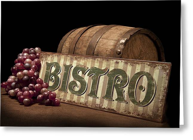 Bistro Still Life Iv Greeting Card