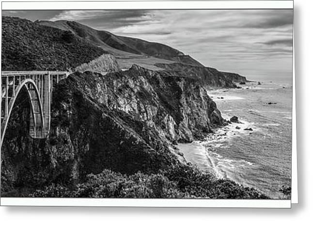 Bixbie Bridge California  Greeting Card by John McGraw