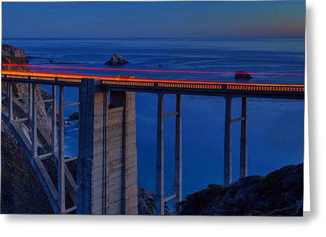 Bixby Bridge 2 Greeting Card by Craig H Sladek