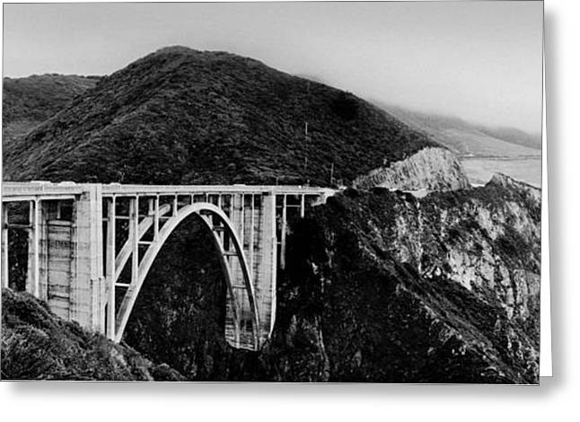 Bixby Bridge - Big Sur - California Greeting Card