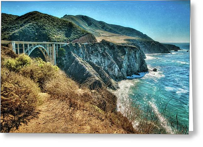 Bixby Bridge - Big Sur Coast #2 Greeting Card by Jennifer Rondinelli Reilly - Fine Art Photography