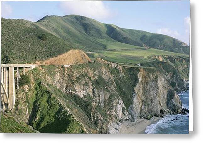 Bixby Bridge Over Bixby Creek Greeting Card