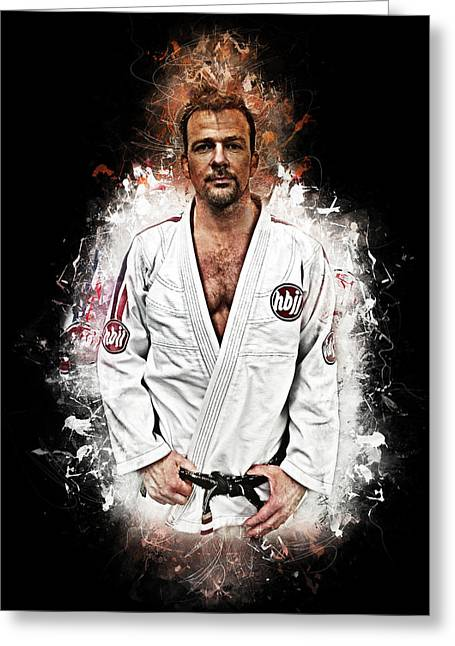 Bjj Flanery Greeting Card