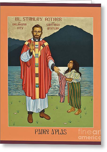 Bl. Stanley Rother - Lwsro Greeting Card