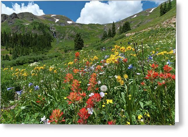 Black Bear Pass Landscape Greeting Card
