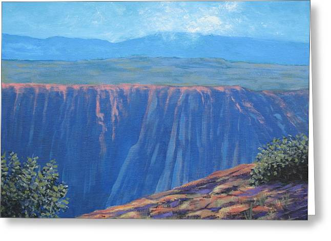 Black Canyon Of The Gunnison Greeting Card by Gene Foust