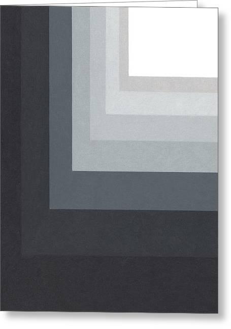 Black Corner 2 Greeting Card by Sandi Hauanio