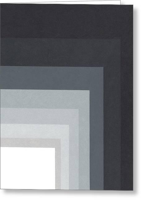 Black Corner 3 Greeting Card by Sandi Hauanio