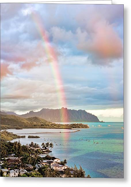 Black Friday Rainbow Greeting Card