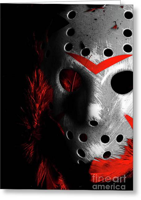 Black Friday The 13th  Greeting Card