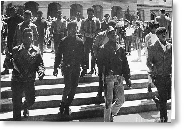 Black Panthers, 1967 Greeting Card