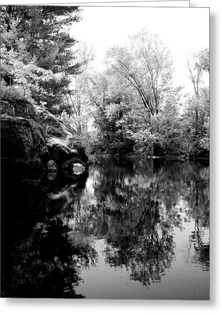 Black River 6 Greeting Card