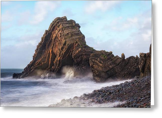 Blackchurch Rock - England Greeting Card
