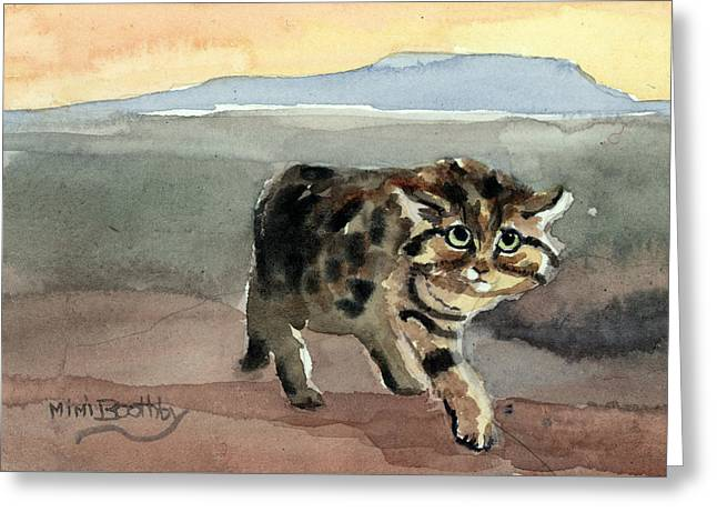 Blackfooted Cat Greeting Card