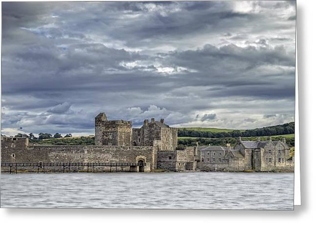 Blackness Castle Greeting Card by Jeremy Lavender Photography