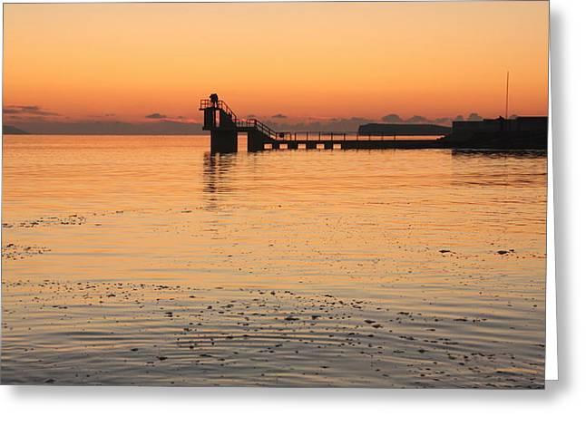 Blackrock Sunset Greeting Card