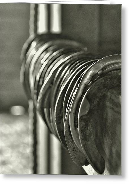 Blacksmith Collection Greeting Card by JAMART Photography