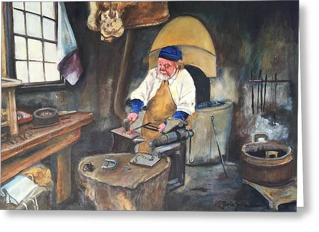 Blacksmith  Greeting Card