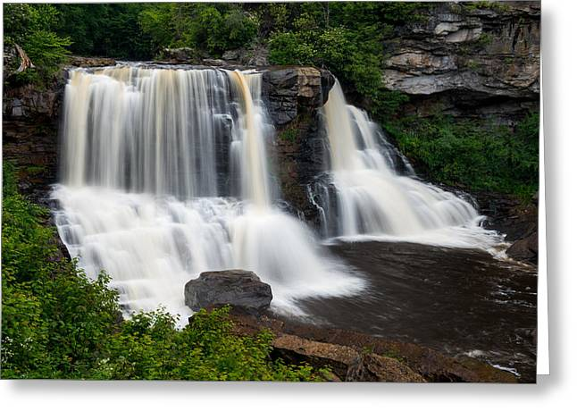 Blackwater Falls State Park West Virginia Greeting Card