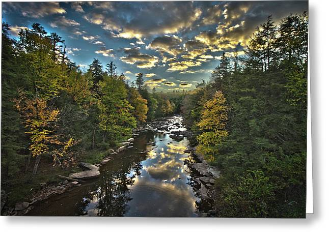 Blackwater River Greeting Card