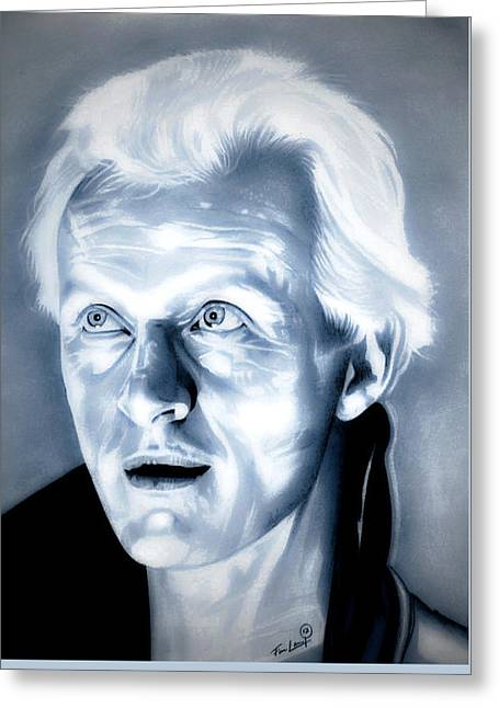 Blade Runner Roy Batty Greeting Card by Fred Larucci