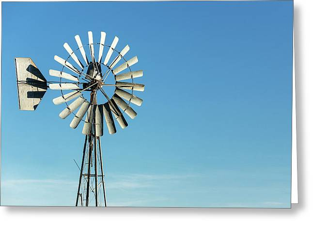 Blades Stand Alone Greeting Card by Todd Klassy