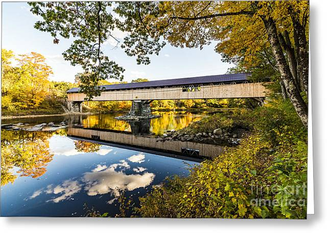 Greeting Card featuring the photograph Blair Bridge by Anthony Baatz