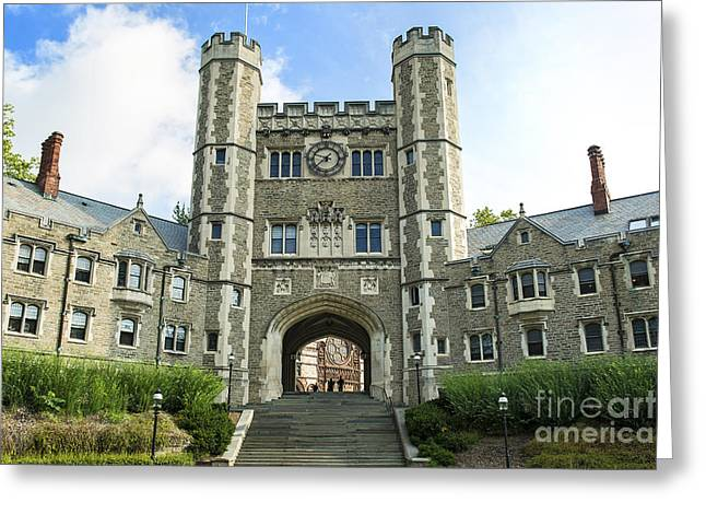 Blair Hall Princeton Greeting Card by John Greim