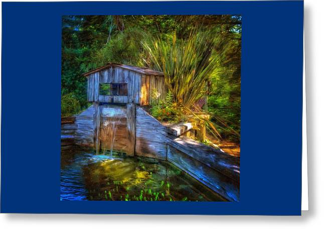 Blakes Pond House Greeting Card by Thom Zehrfeld