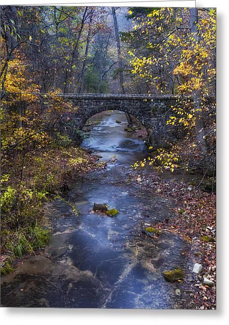 Blanchard Stone Bridge Greeting Card