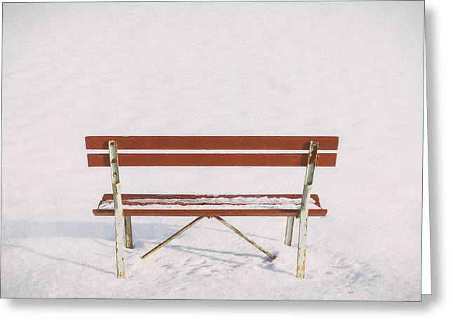 Blank Slate Greeting Card by Scott Norris