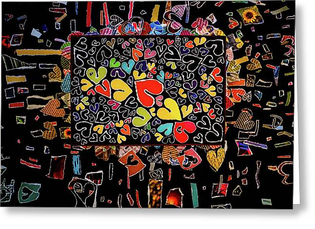 Blanket Of Love  Greeting Card by Kenneth James